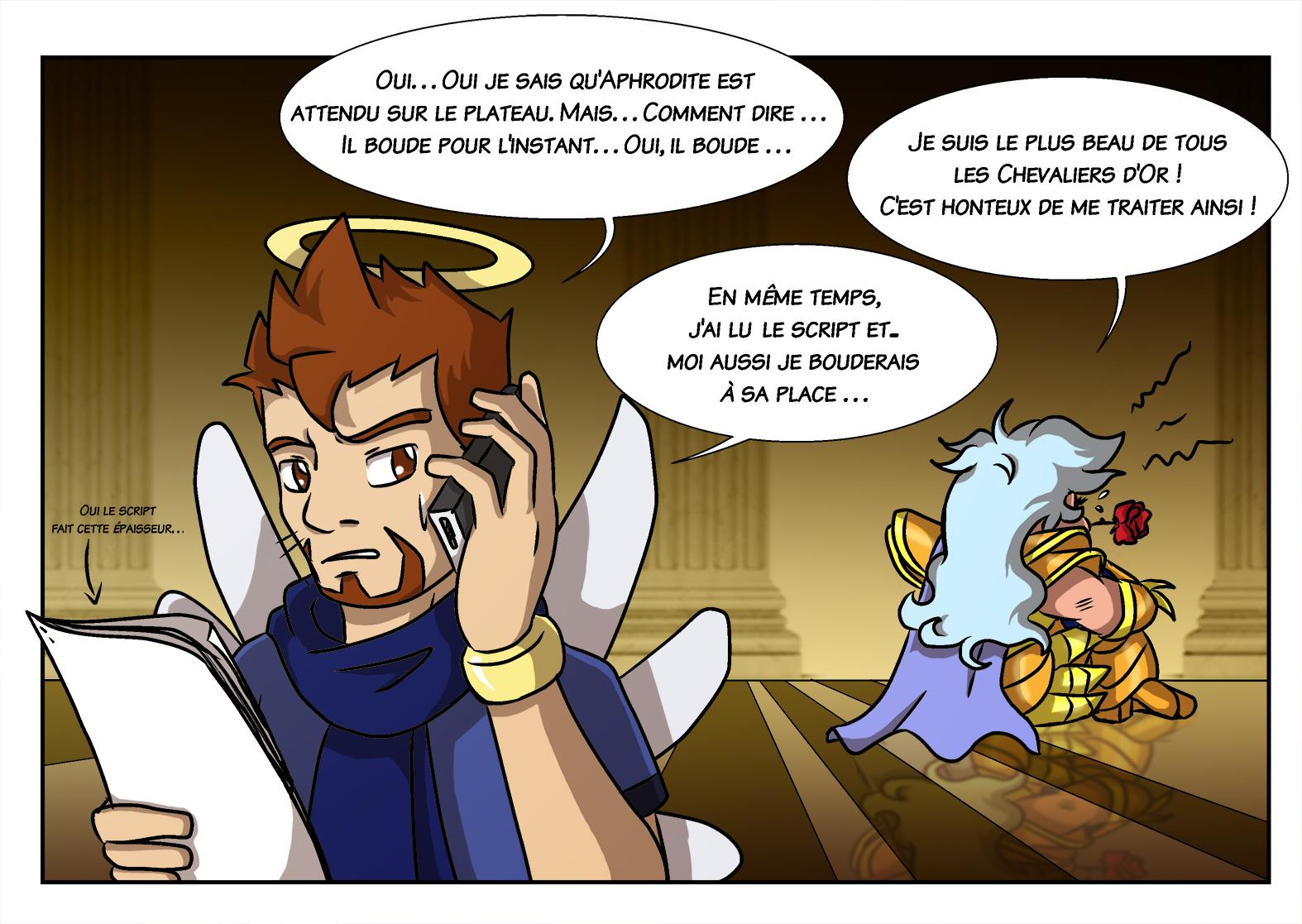 Saint Seiya Legend Of Sanctuary Avorte Dans L Oeuf L Atelier D