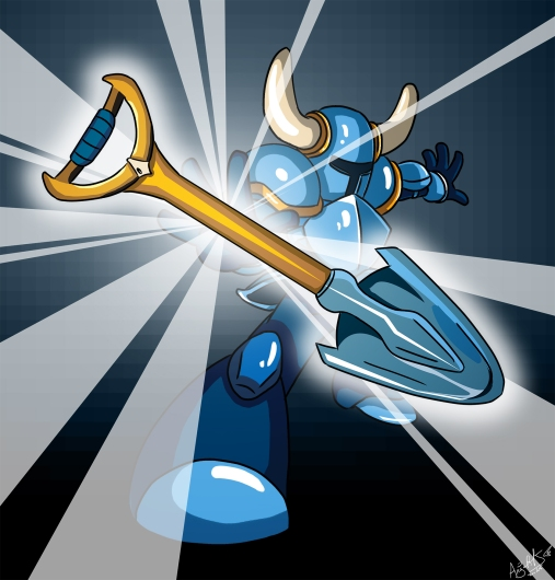 Shovel Knight by AngelMJ